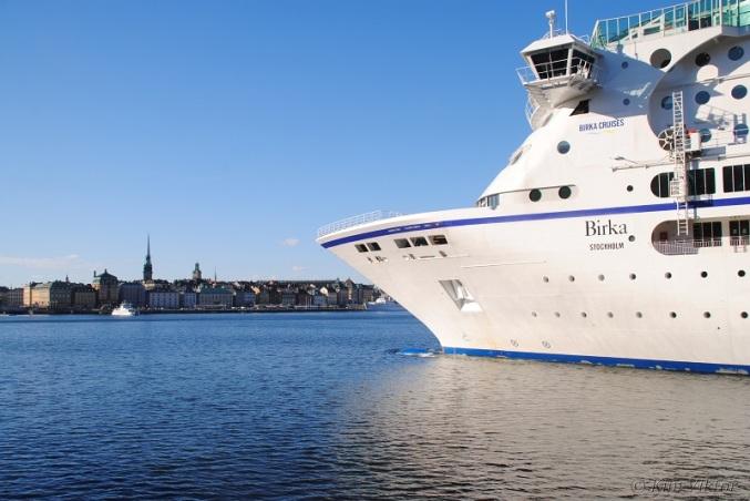 Birka Stockholm med just Stockholm i bakgrunden.