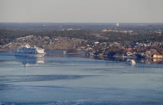 Birka Stockholm jagade den lite mindre Dalarö.