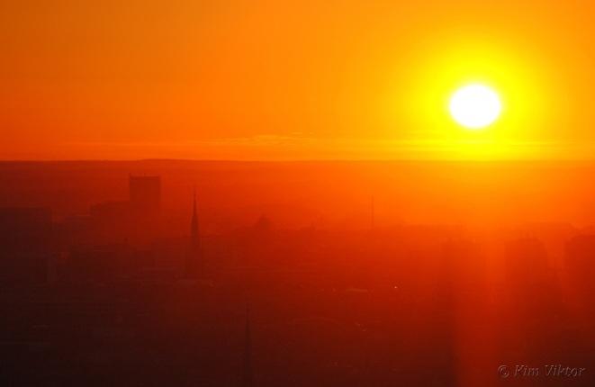 Tack solen för denna fantastiska dag!