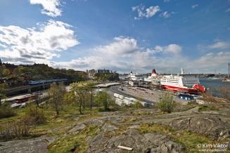 Härlig utsikt från Fåfängan.